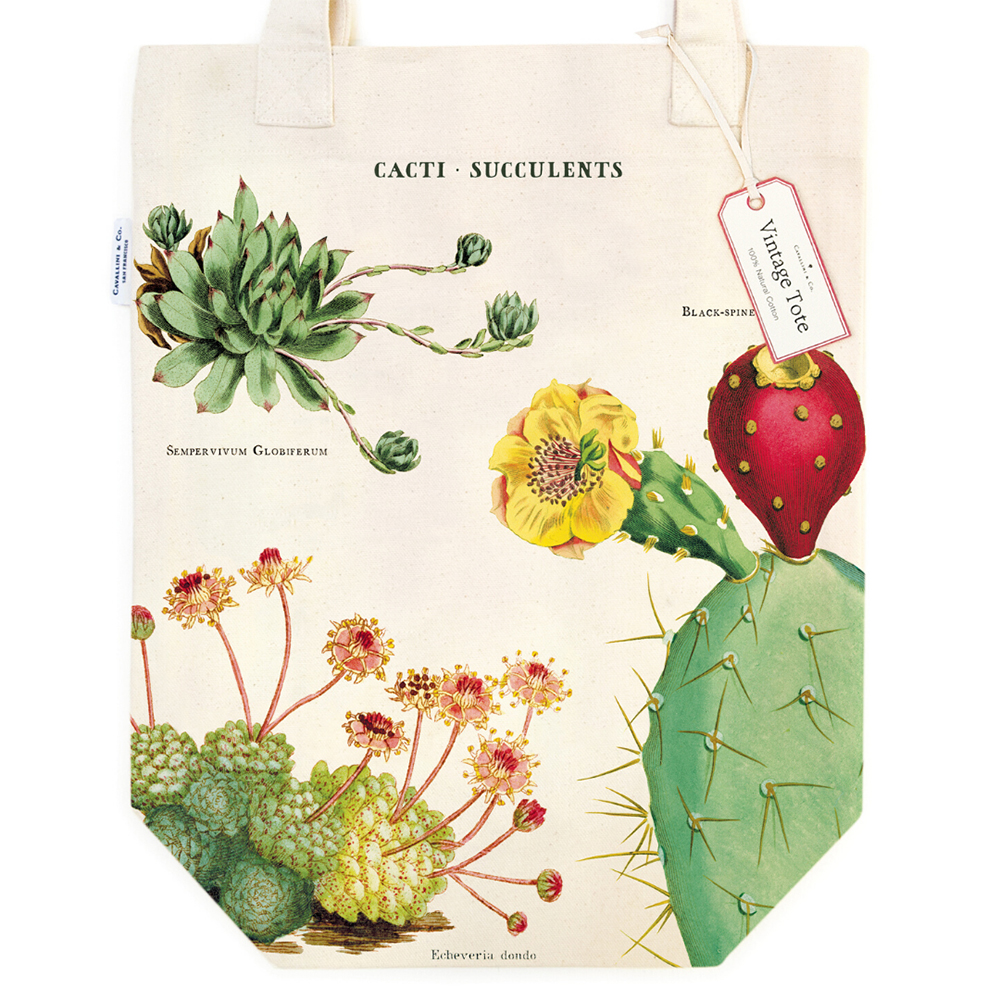 Cavallini, Canvas, Tote Bag