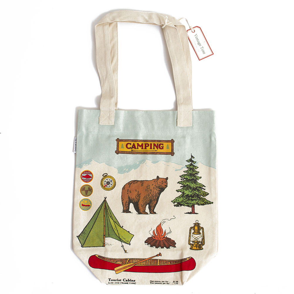 Cavallini, Canvas, Tote, Bag