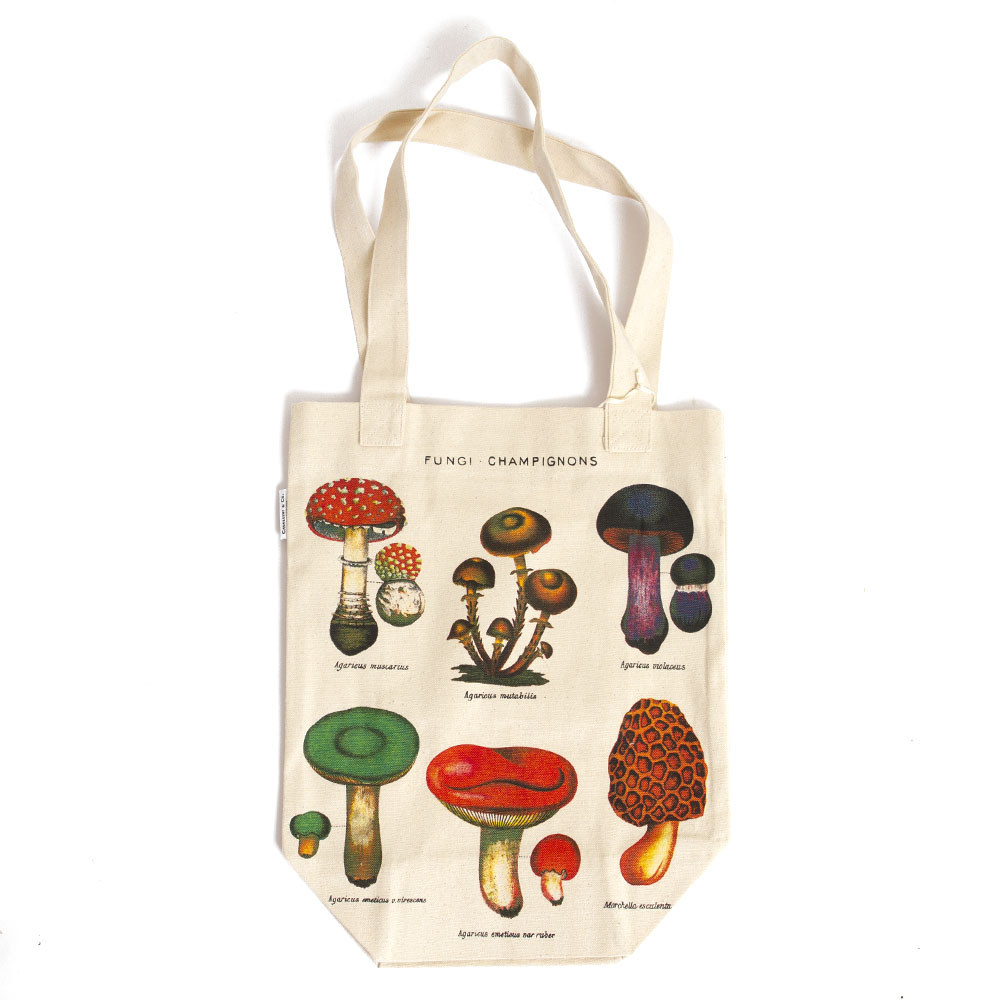 Cavallini, Tote, Mushrooms