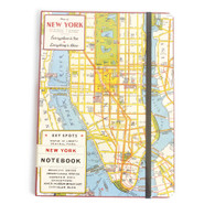 Cavallini, Notebook, Large, NYC Map