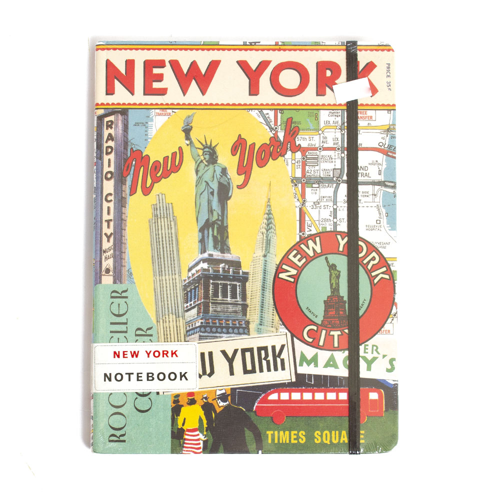 Cavallini, Large, Notebook, Vintage New York