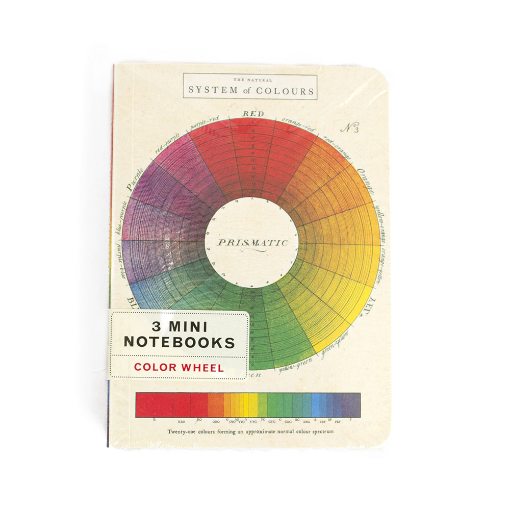 Cavallini, Mini, Notebook, Color Wheel