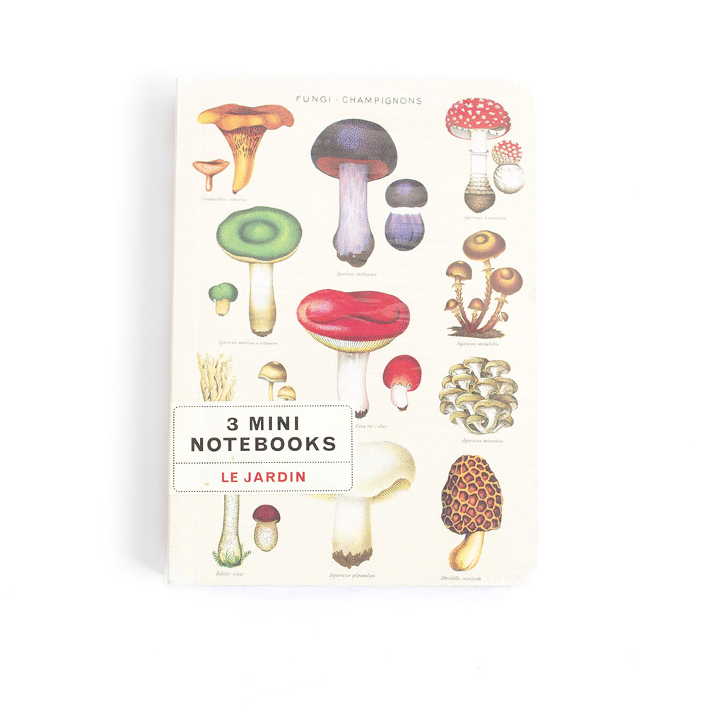 Cavallini, Mini Notebook, Jardin
