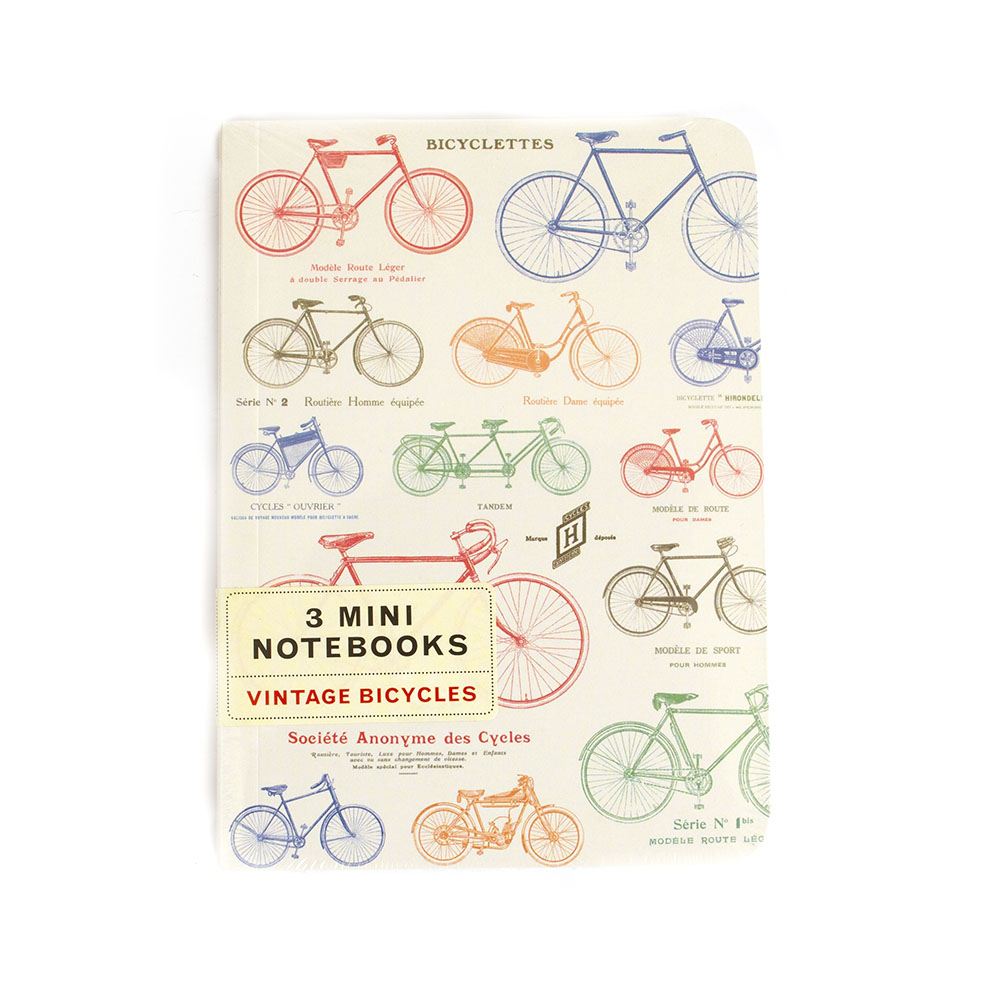 Cavallini, Mini, Notebook, Bicycles