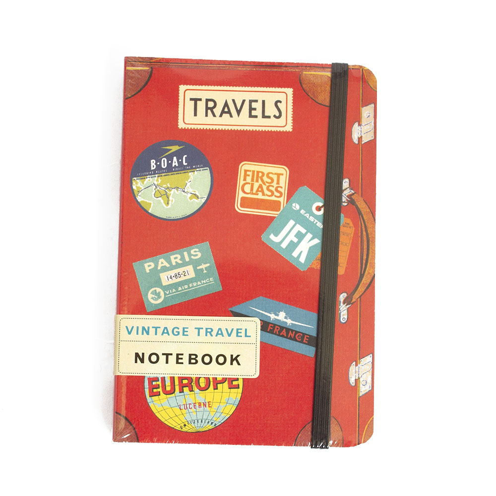 Cavallini, Mini, Notebook, Travel