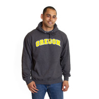 Arched Oregon, Basic, Fleece, Hoodie, Sweatshirt