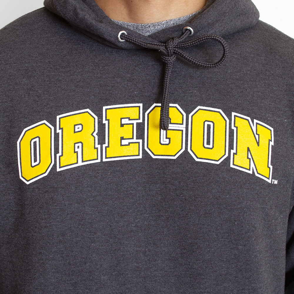 Arched Oregon, Basic, Fleece, Hoodie, Sweatshirt, Chest