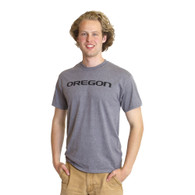 Straight Oregon, Printed, Basic, Short Sleeve, T-Shirt