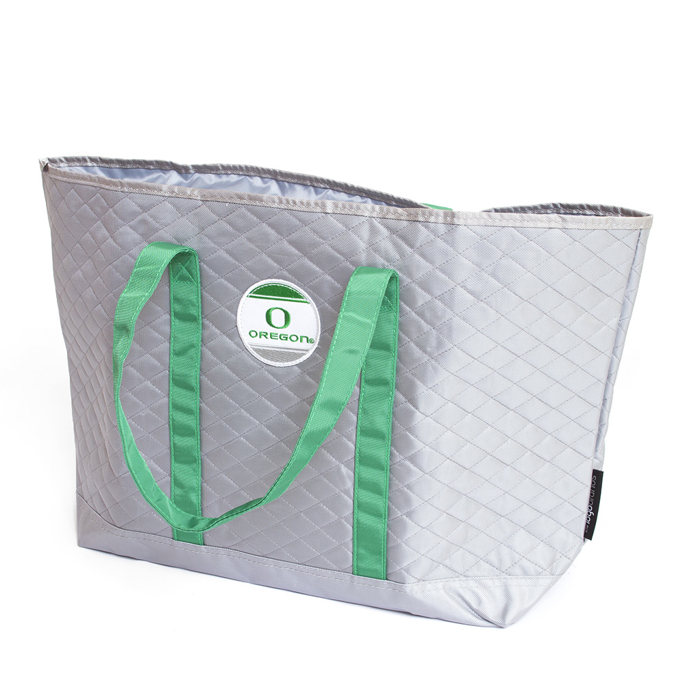 Classic Oregon O, Oregon, Quilted, Merit, Tote