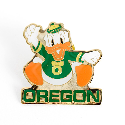 Charging Duck, Lapel Pin