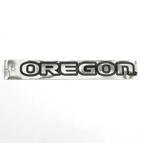 Chrome Oregon Magnet