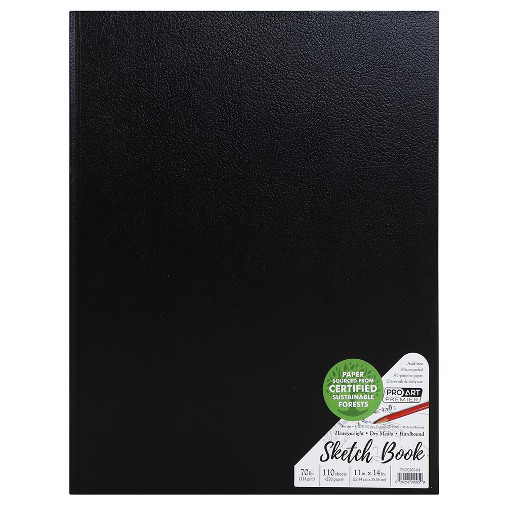Closeout, Premium, Hardbound, 70#, Sketchbook