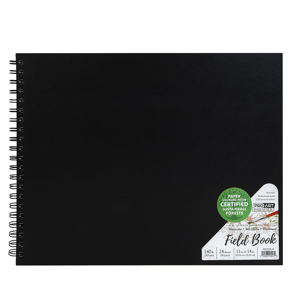Closeout, Premium, Watercolor, Field Book