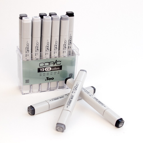 Copic, Cool Grey, Marker Set