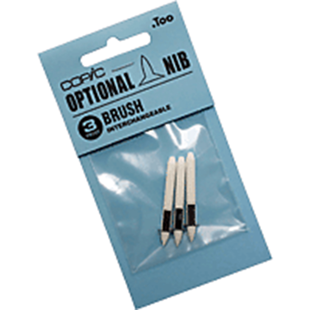 Copic, Marker, Brush Nib, 3 Pack