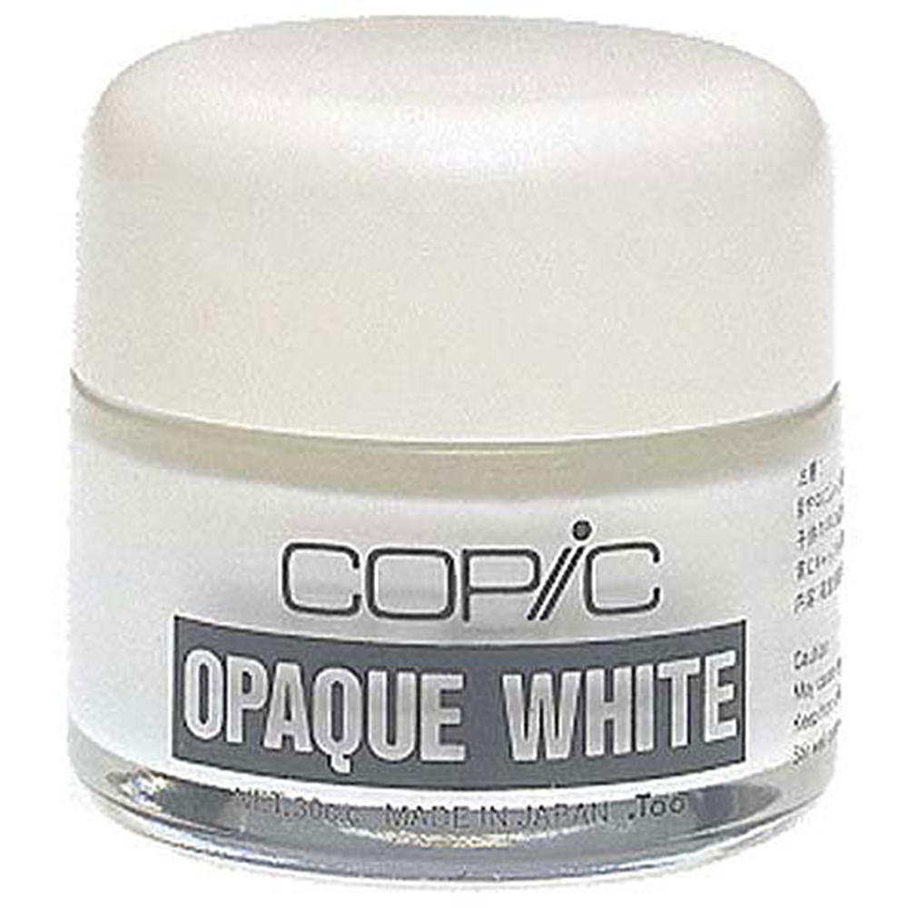 Copic, Opaque, White Pigment