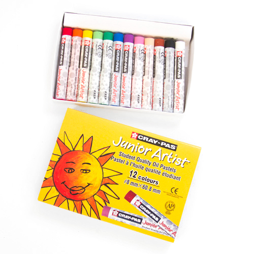 Cray-Pas Junior Artist Oil Pastel 12 Set