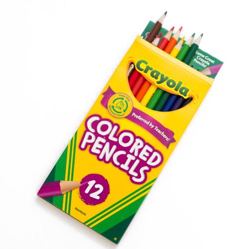 Colored Pencil 12 Color Set