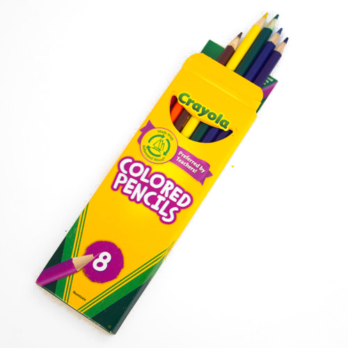 Crayola Colored Pencil 8 Color Set