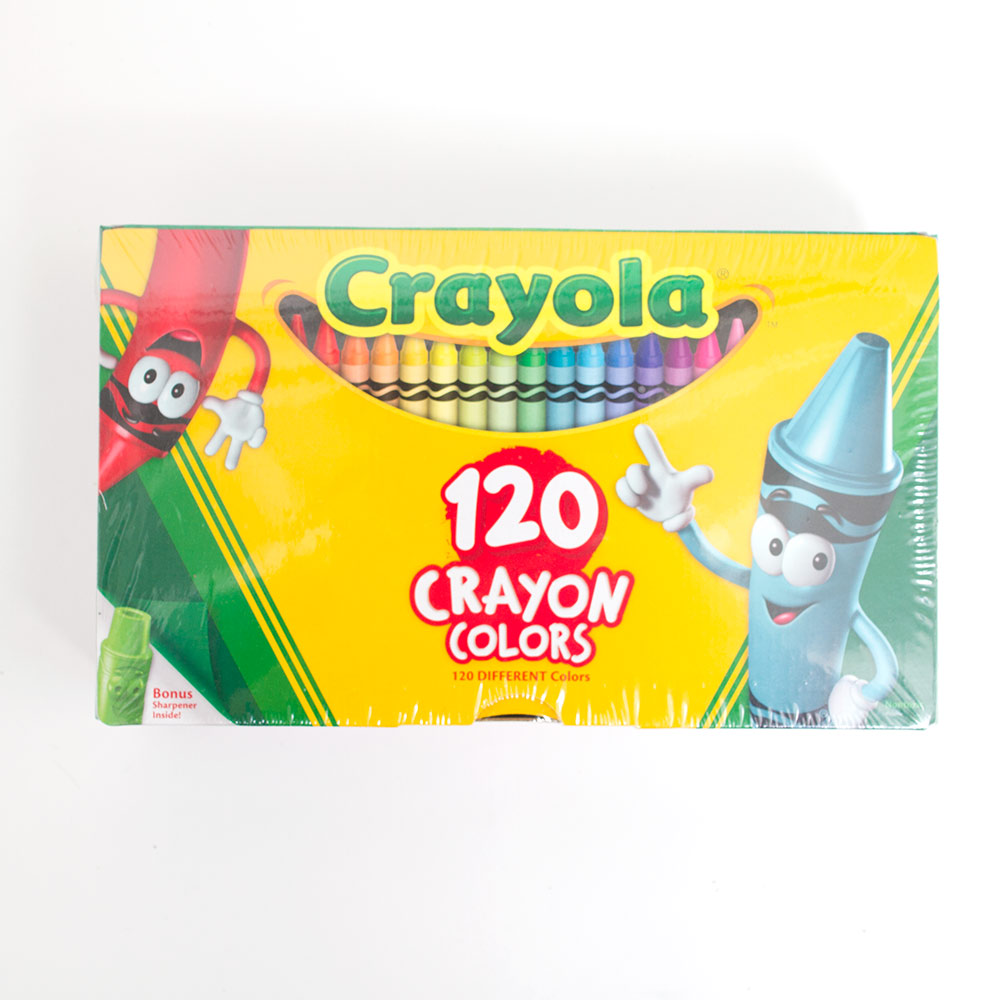 Crayola, Crayon, 120 color, Box