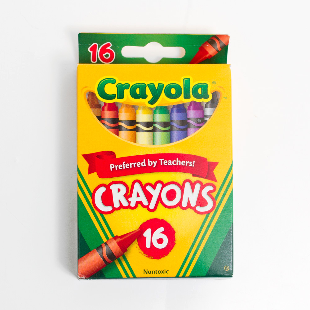Crayola Crayon 16 Color Box