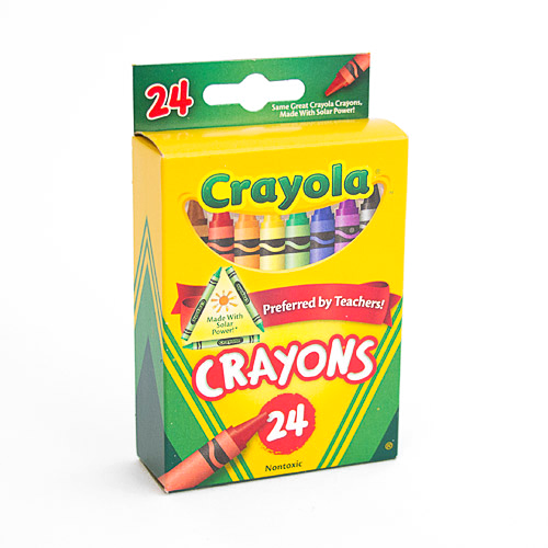 Crayola Crayon 24 Color Box