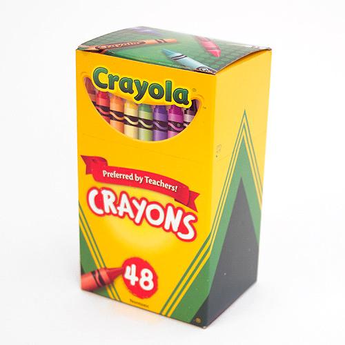 crayola crayon 48 color box