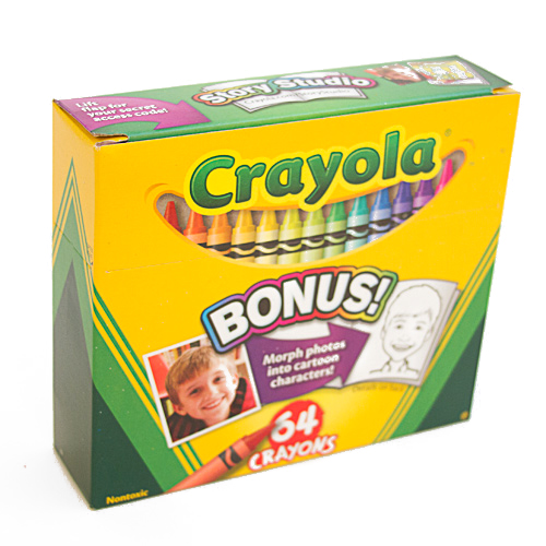 Crayola Crayon 64 Color Box