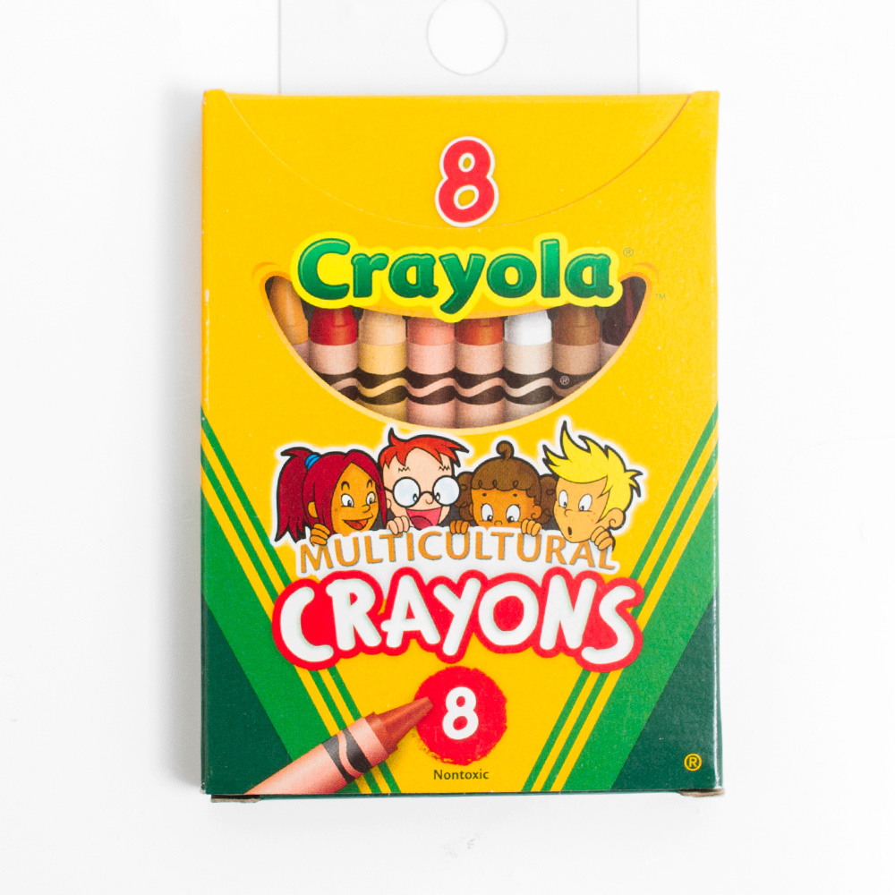 Crayola Large Mulicultural Crayon 8 Color Set