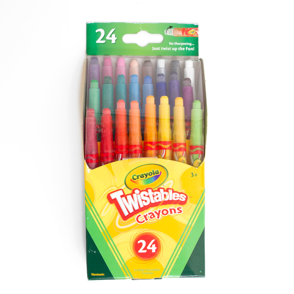 Crayola Mini Twistable Crayon 24 Color Set
