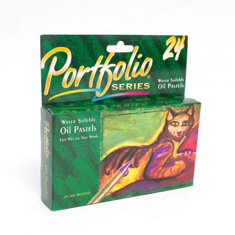 Crayola Portfolio Watersoluble Oil Pastels 24 Color Set