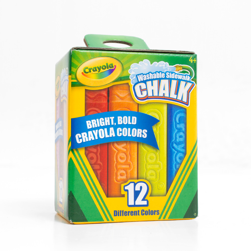 Crayola Sidewalk Chalk 12 Color Set