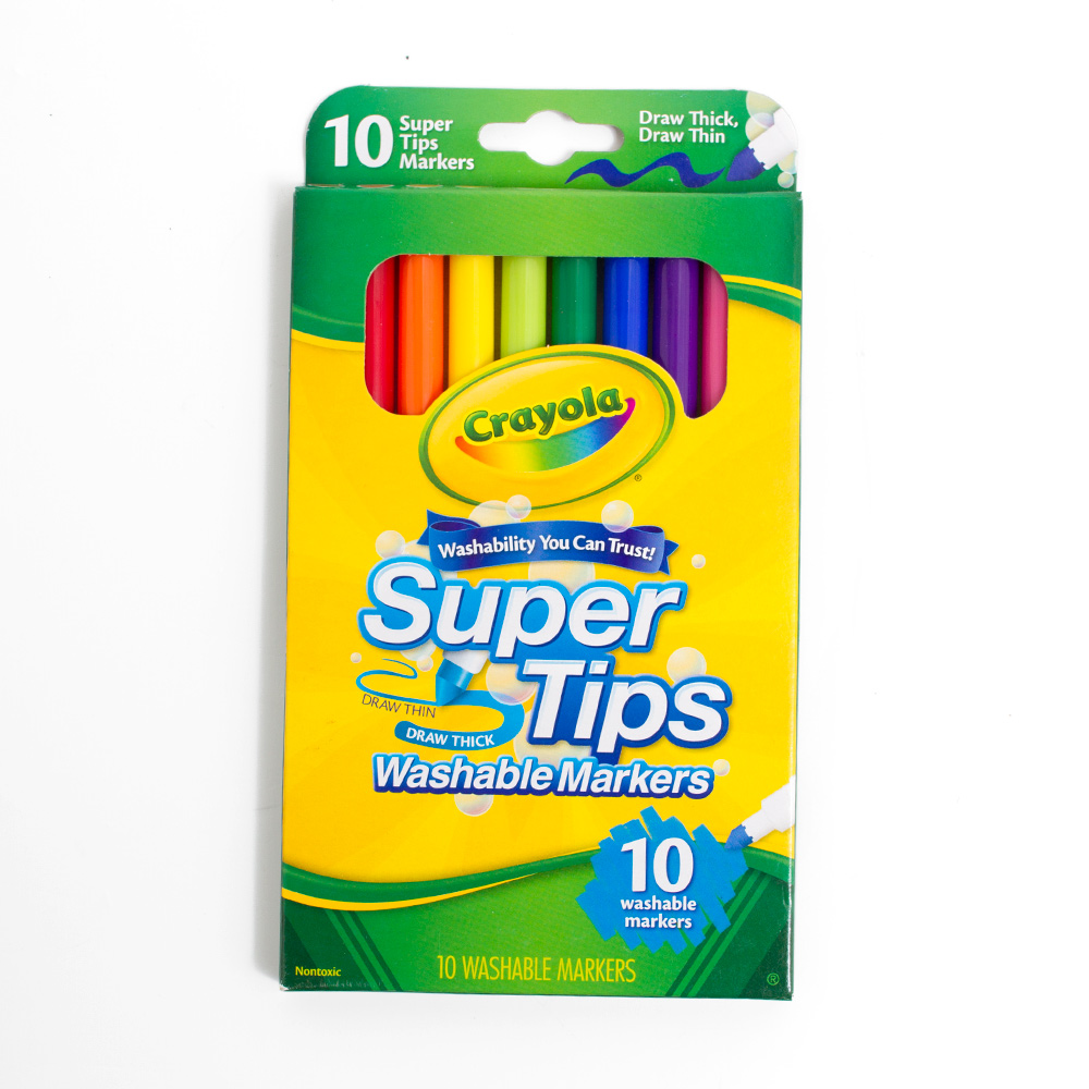 Crayola Super Tip Marker 10 Color Set
