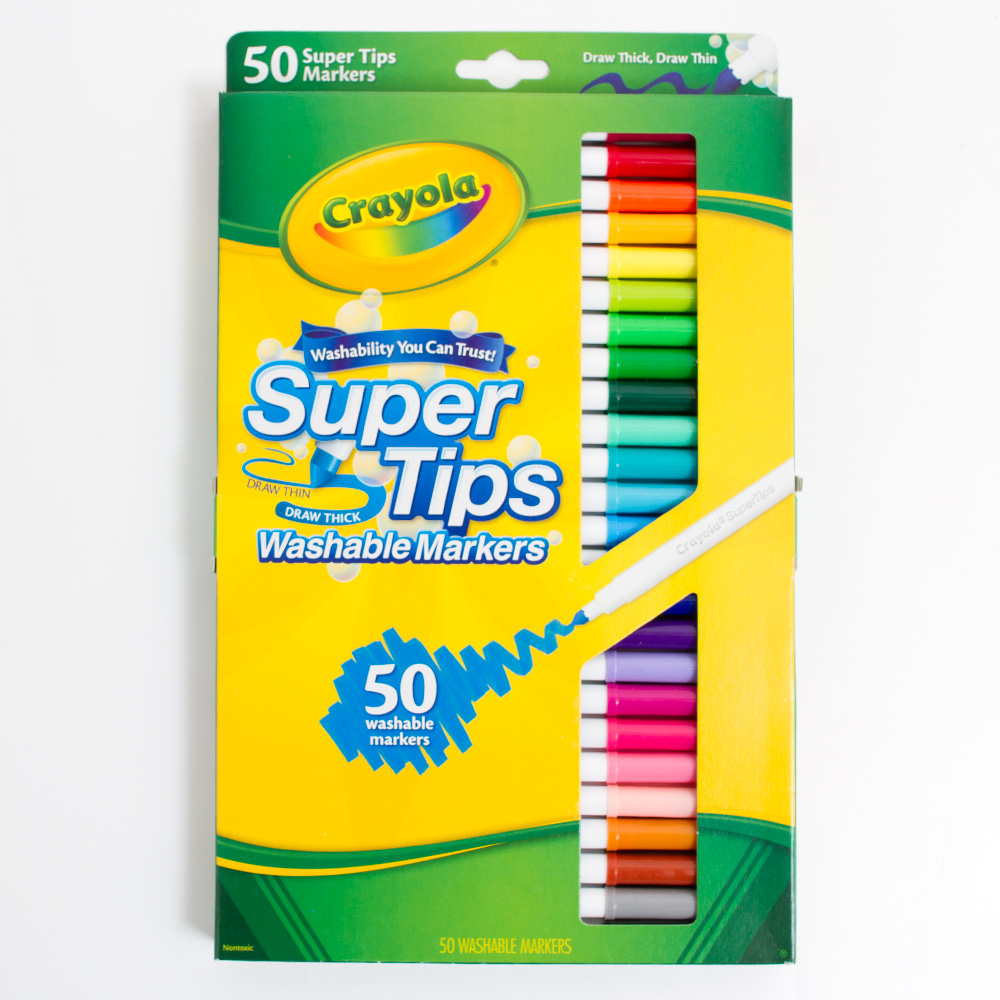 Crayola Super Tip Marker 50 Color Set