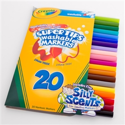 Crayola Super Tip Washable Marker 20 Color Set