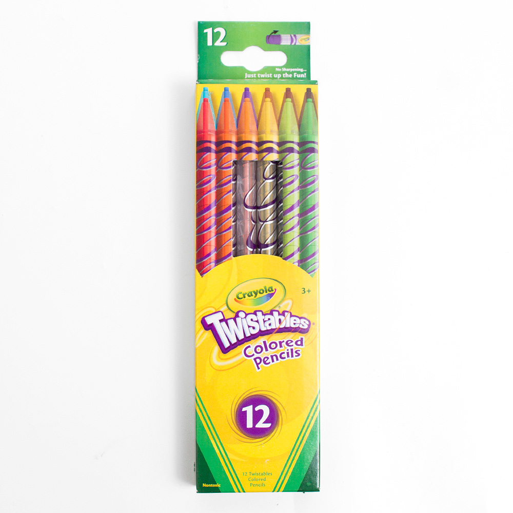 Crayola Twistable Colored Pencil 12 Color Set
