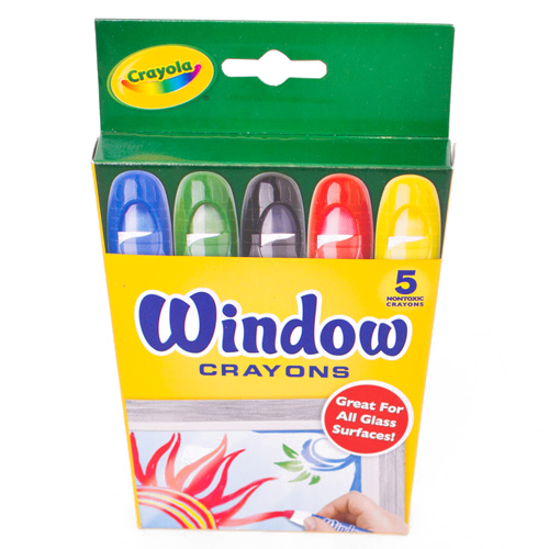 Crayola Window Crayon 5 Color Set