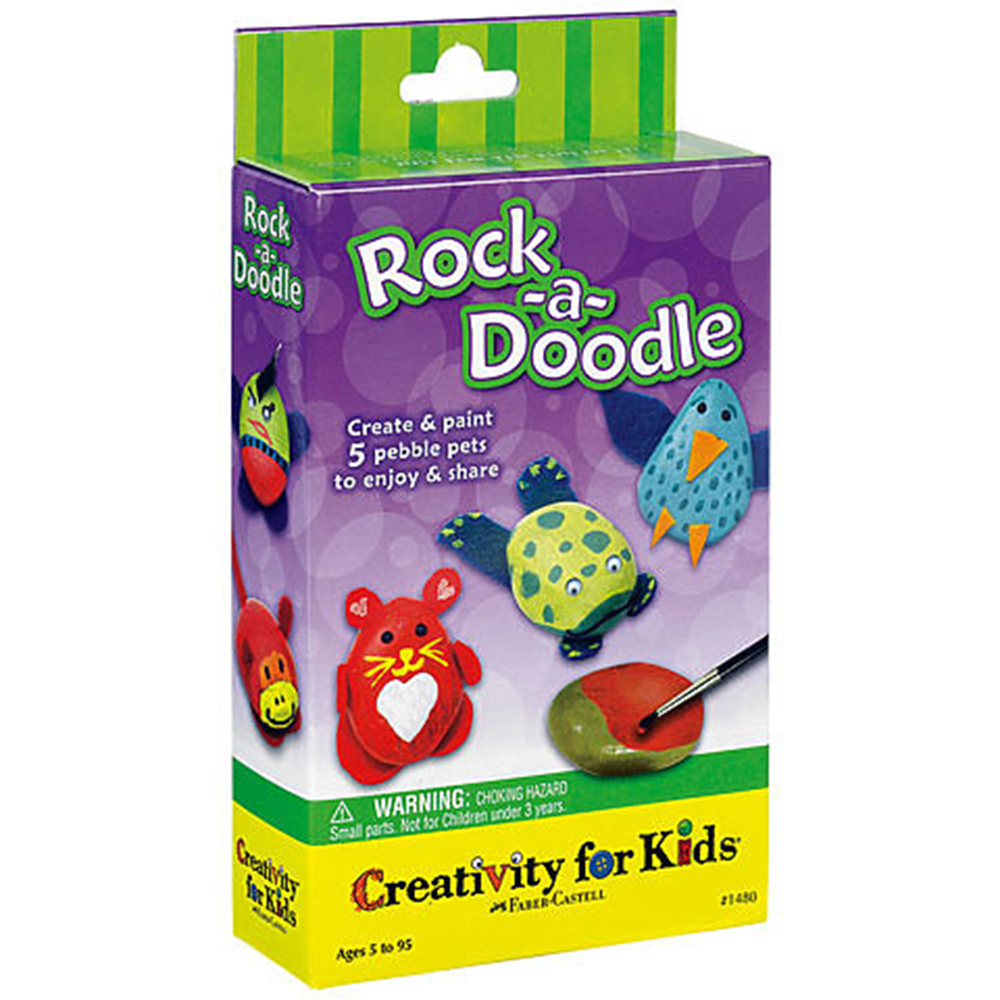 Creativity for Kids, Art Kit, Rock-a-Doodle