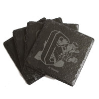 DTO, Slate, Coaster Pack