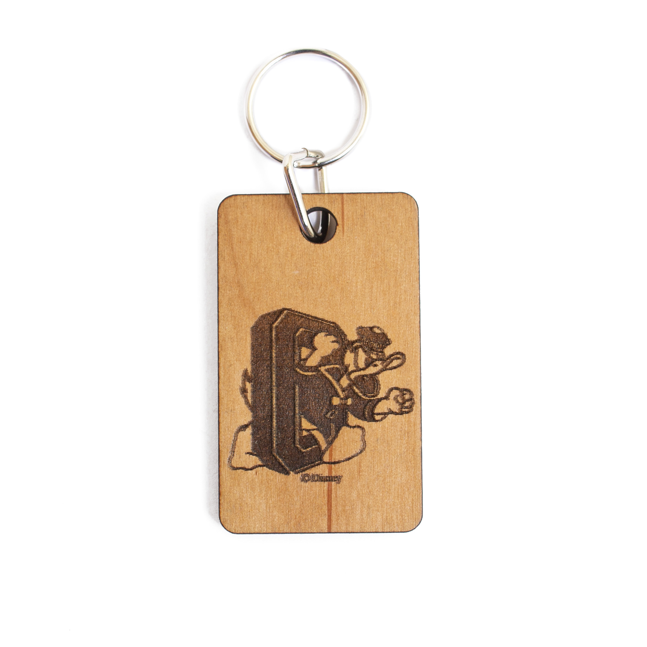 DTO, Wooden, Key Chain
