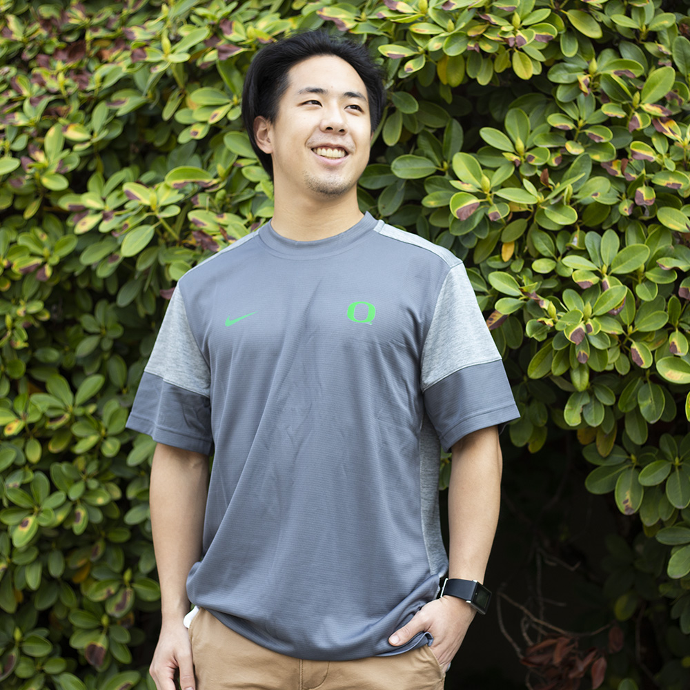 Classic Oregon O, Nike, UV, Crew Neck, T-Shirt