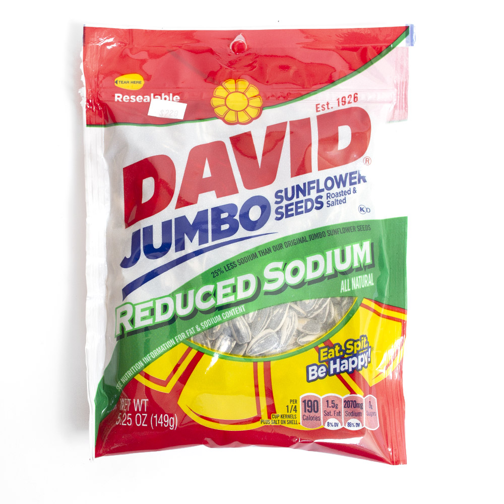 Sunflower Seed, Reduced Sodium, Snack