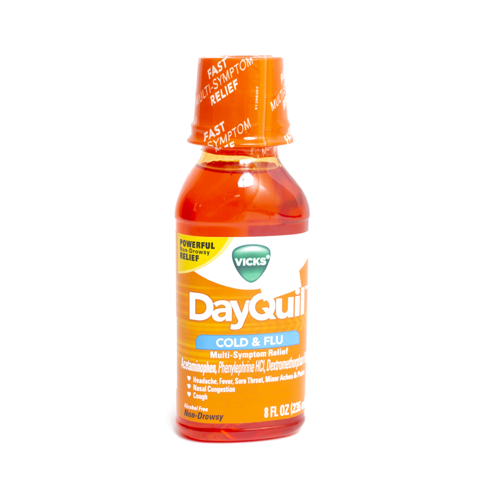 Dayquil, Cold and Flu
