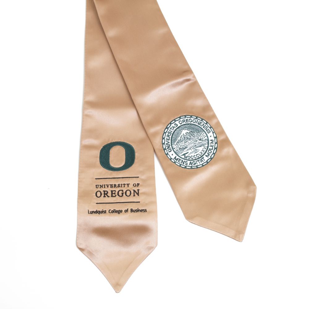 Degree Stole, Lundquist College of Business