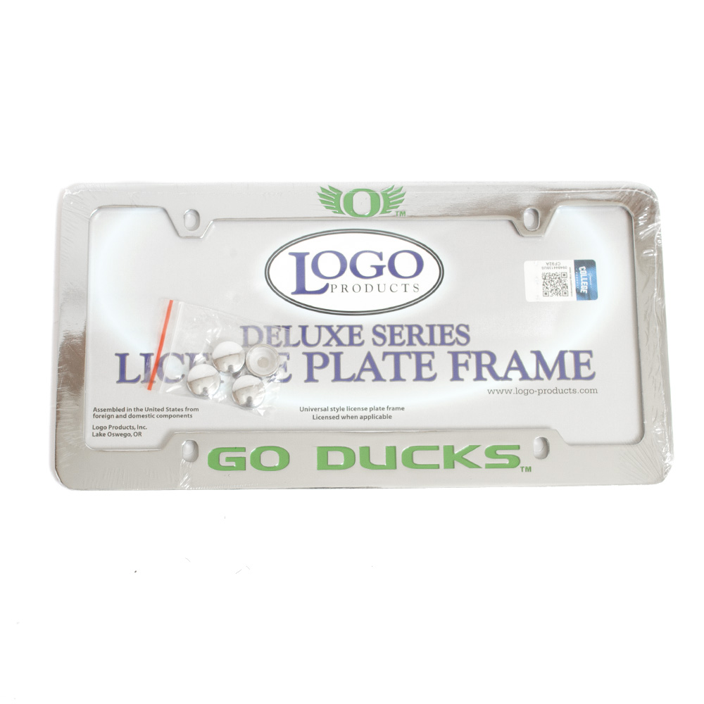 O-logo, Go Ducks, License Frame