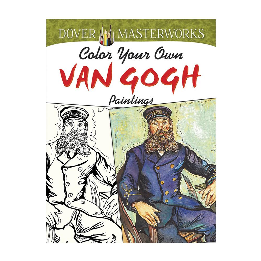 dover coloring book van gogh - Van Gogh Coloring Book