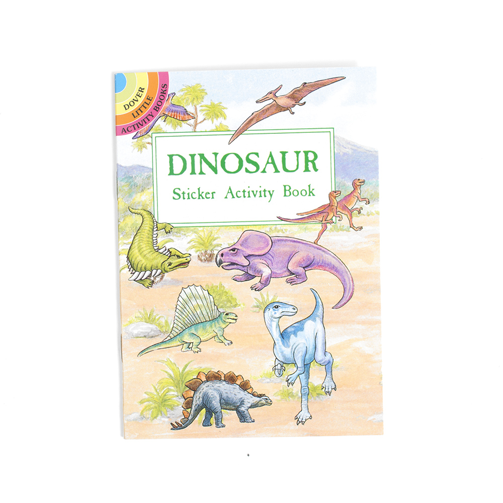 Dover, Little Activity Book, Dinosaurs