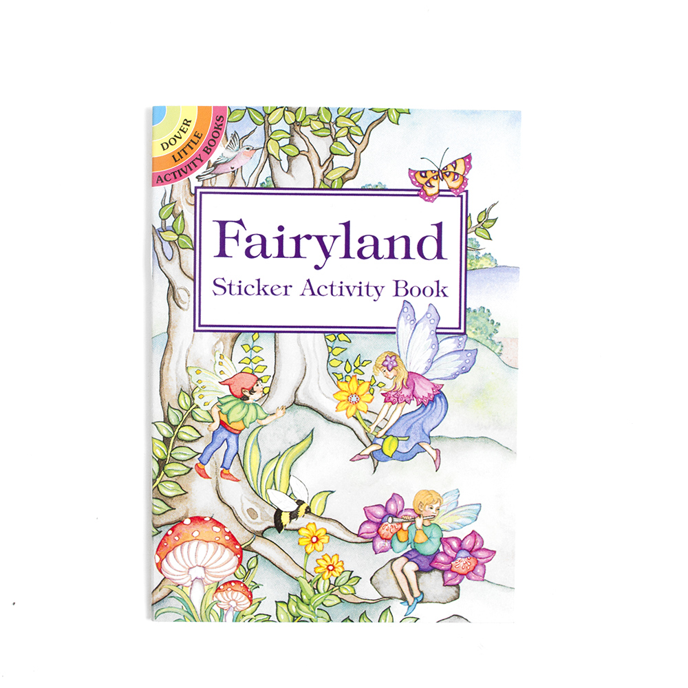 Dover, Little Activity Book, Fairyland