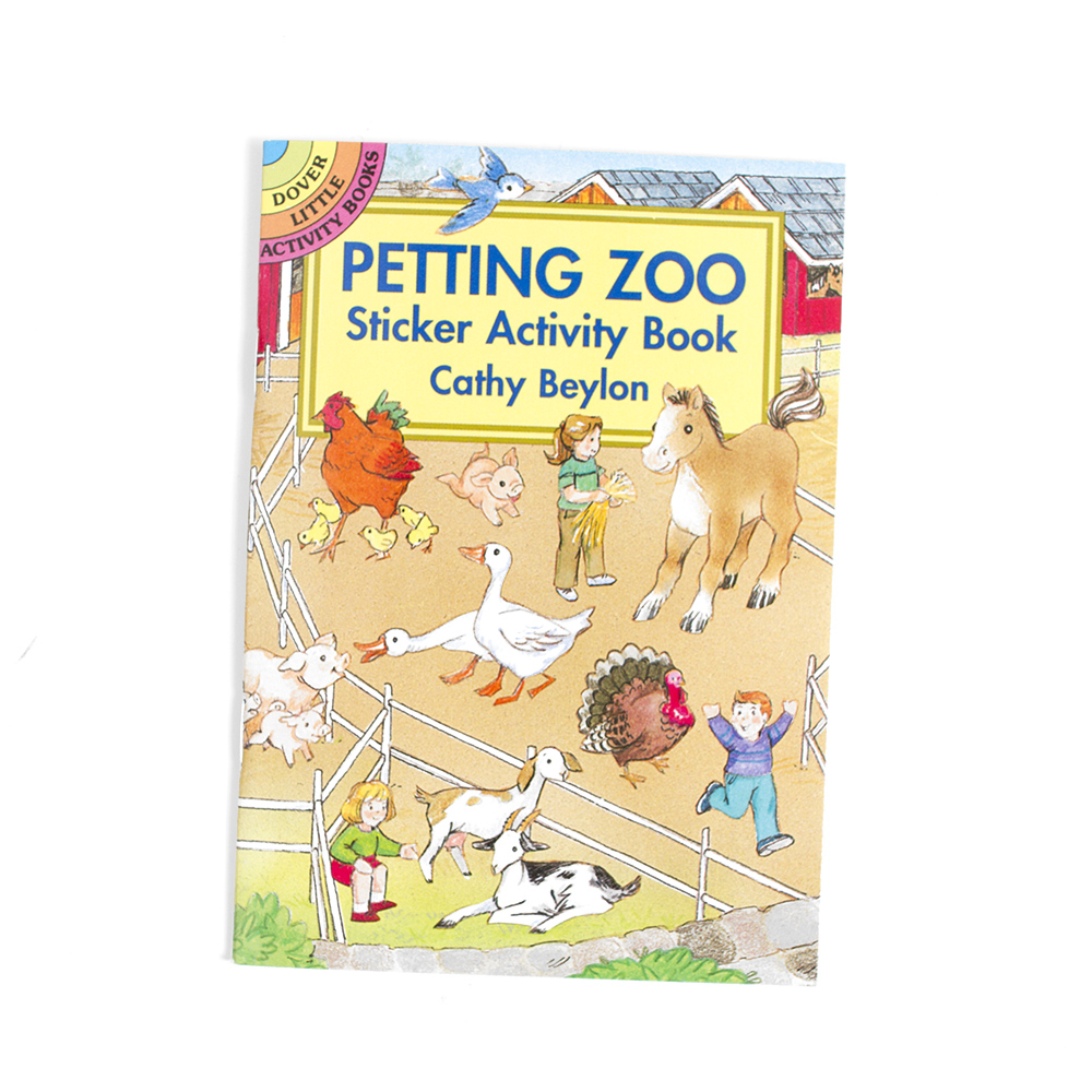 Dover, Little Activity Book, Petting Zoo
