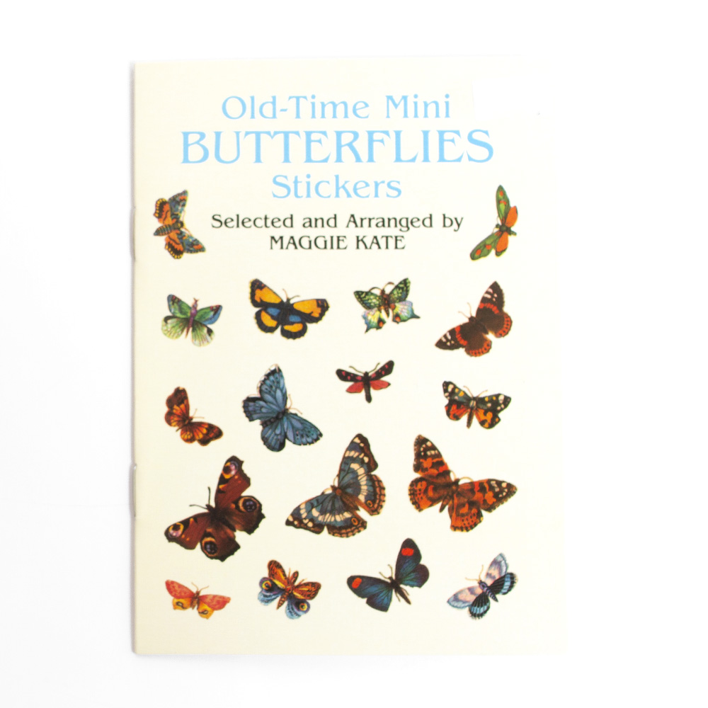 Dover, Sticker, Book, Butterfly